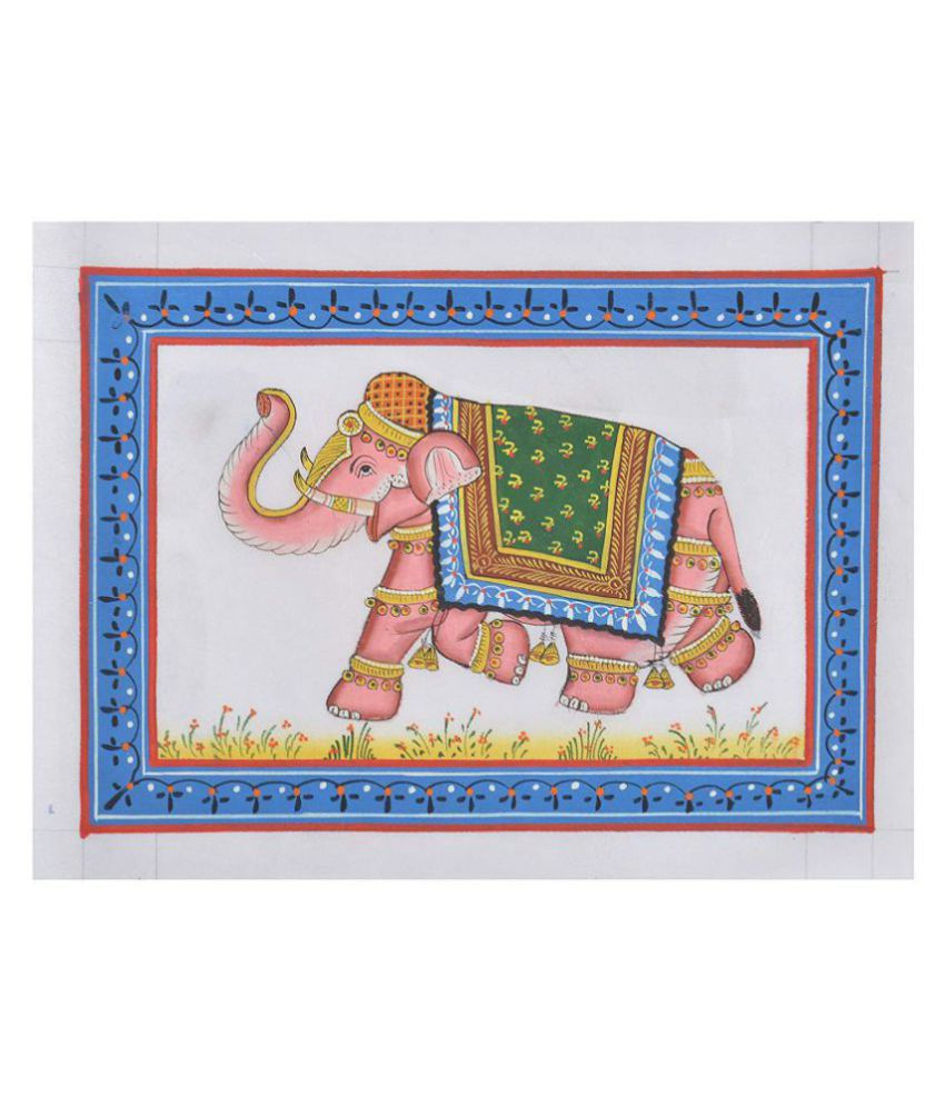 Unique Indian Crafts Handmade Fabric Painting Without Frame