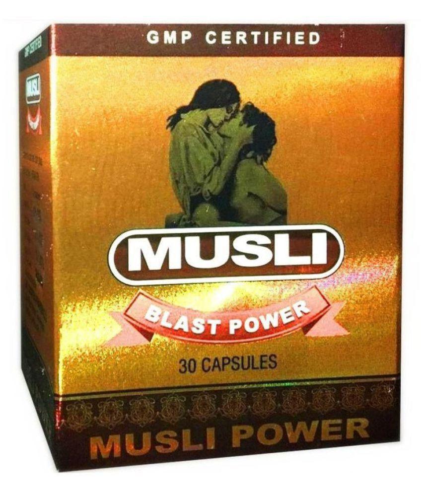 Herbal Care Musli Blast Power Capsule 30 no.s
