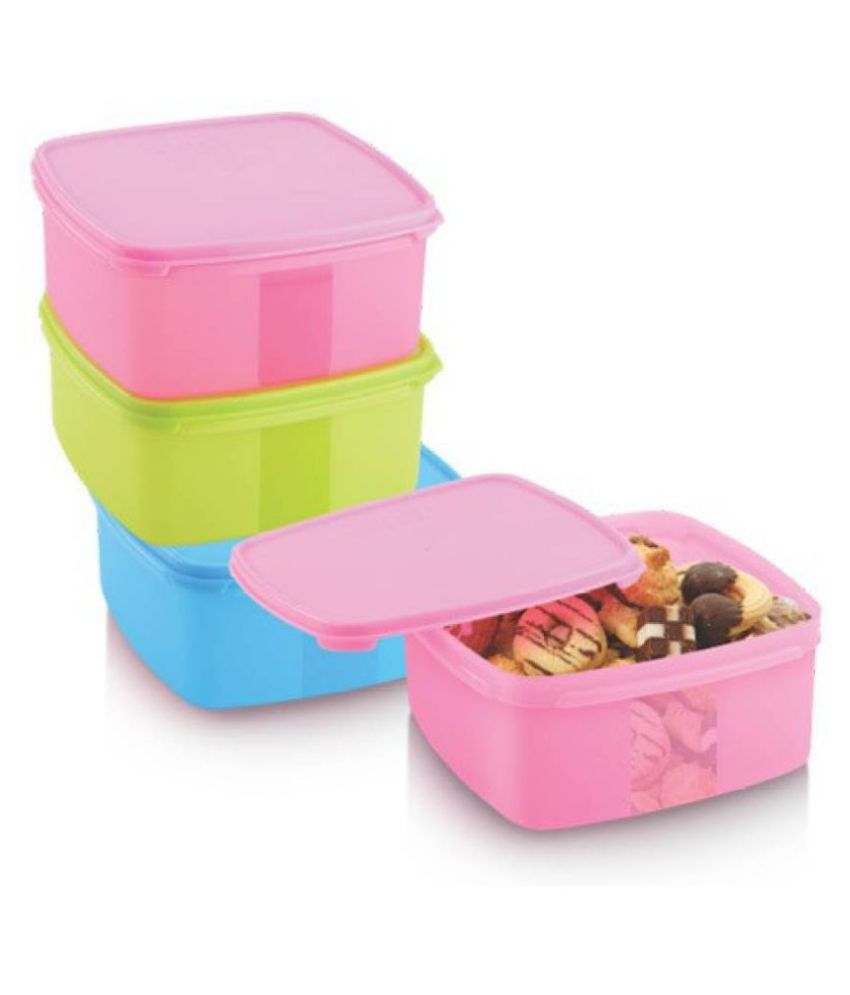 Ruchi Collection PET Food Container Set of 3 500 mL