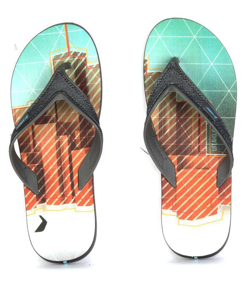 Rider Multi Color Slide Flip flop