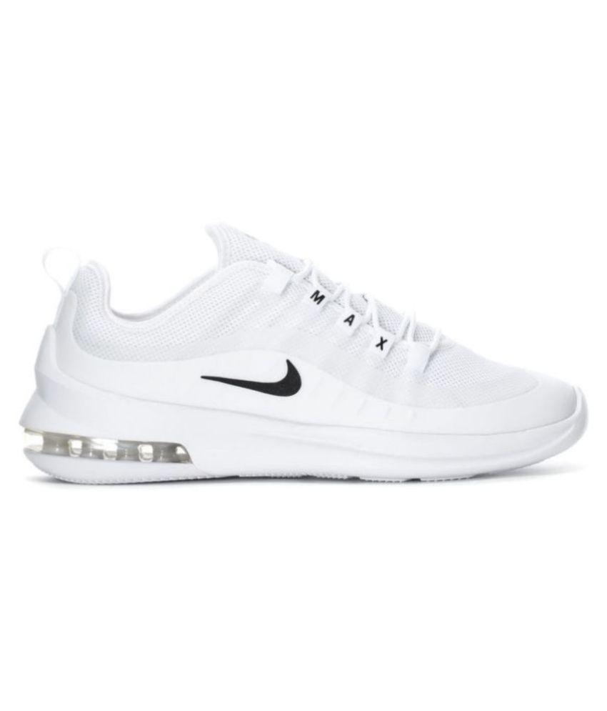 Nike Air Max Axis 2018 White Running Shoes