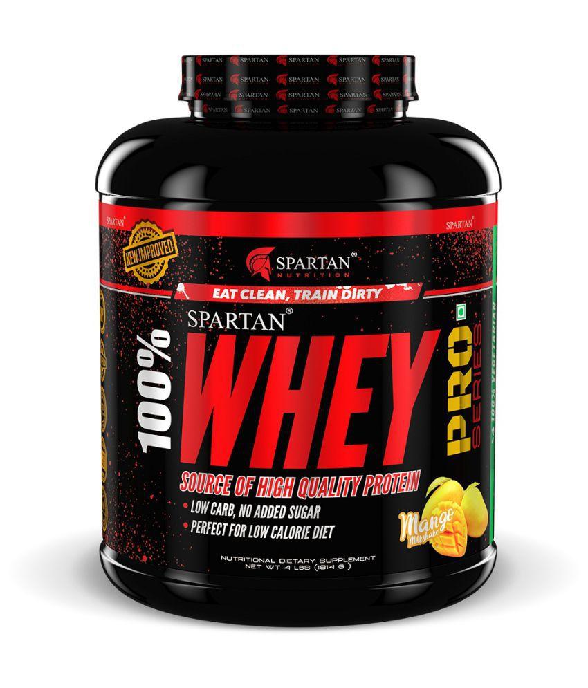 Spartan Whey Protein Pro Series - 4LBS, Mango 4 lb