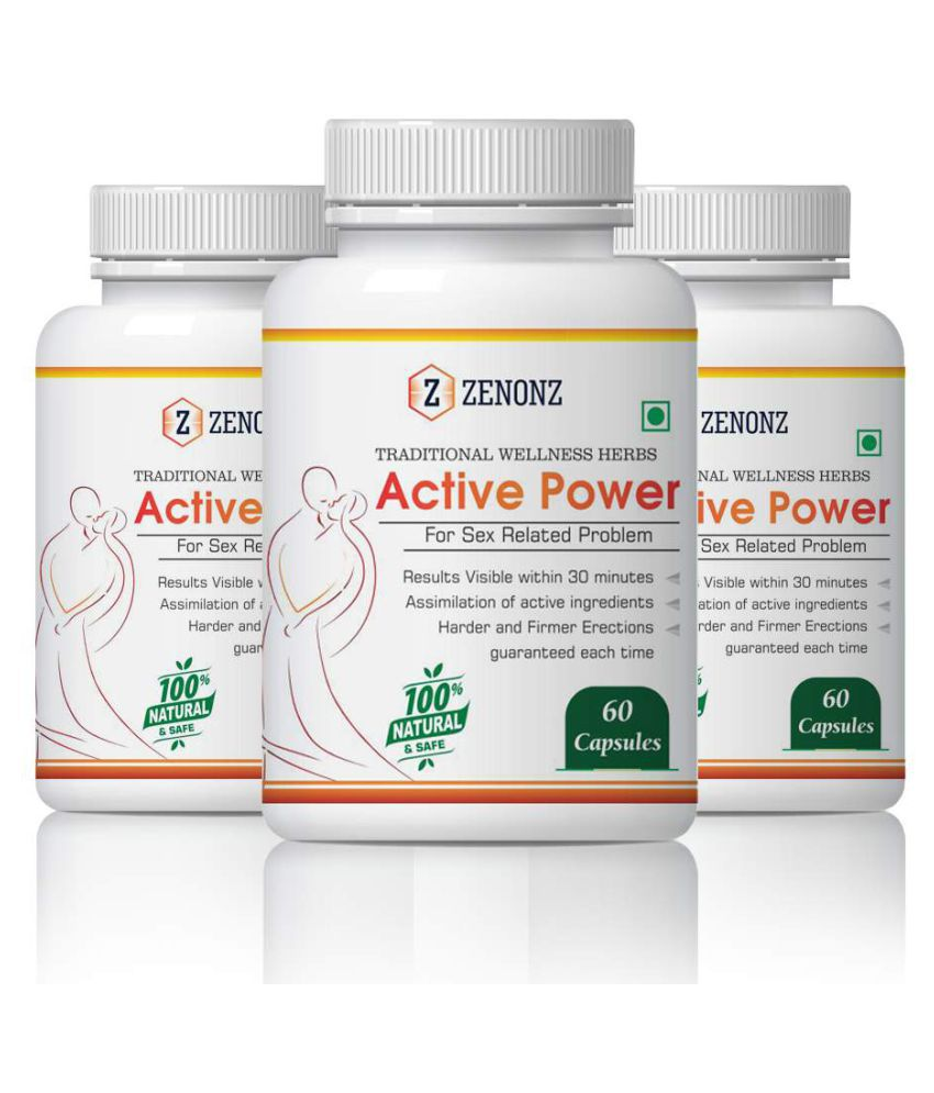 zenonz Sexuall Wellness Capsule 500 mg Pack of 3