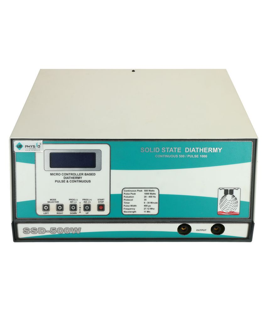 UB PHYSIO SOLUTIONS Physio Therapy Solid State Diathermy 500 Watt