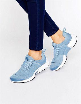 Nike Presto iD Blue Womens Running