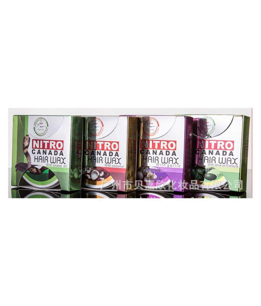 Imported NITRO CANADA Hair Wax Olive, Garlic, Coconut