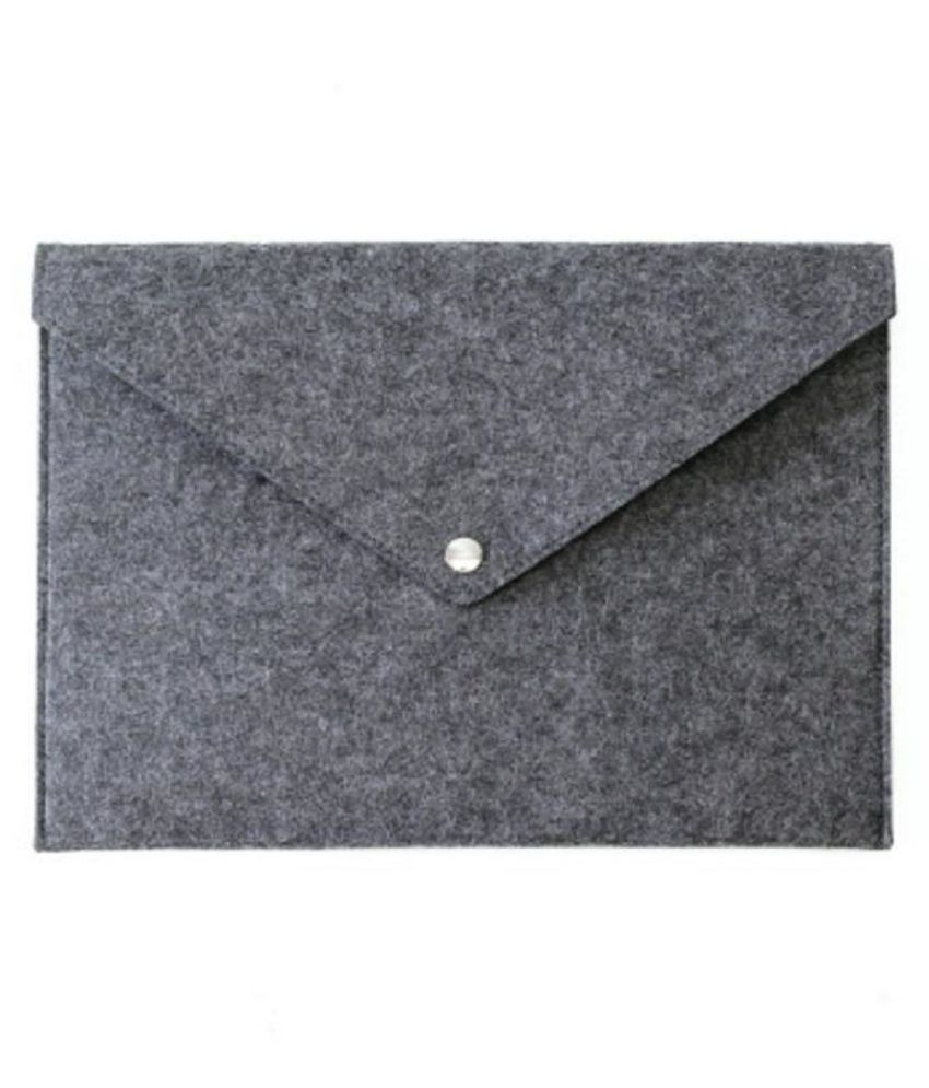 Office Supplies Simple Solid A4 Big Capacity Document Bag Business File Folders Chemical Felt Filing Products
