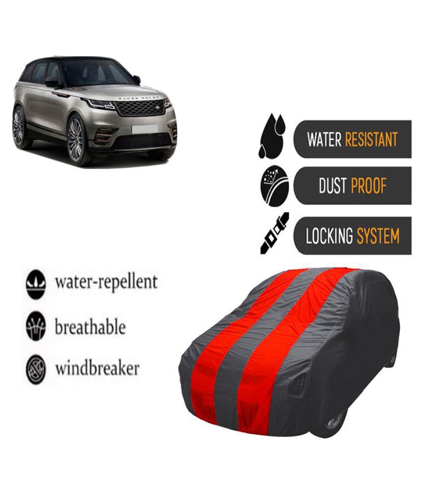 QualityBeast Car Body Cover for  Land Rover Range Rover Velar Mahroon Grey