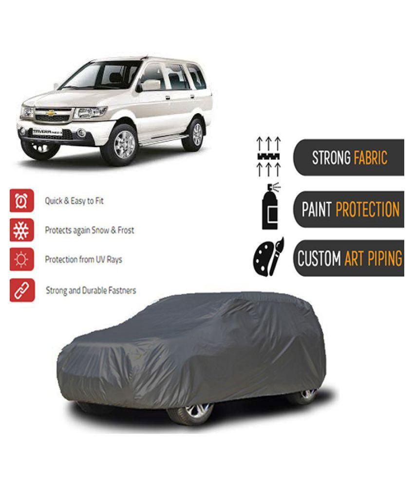 QualityBeast Car Body Cover for  Chevrolet Tavera [2012-2014] Grey