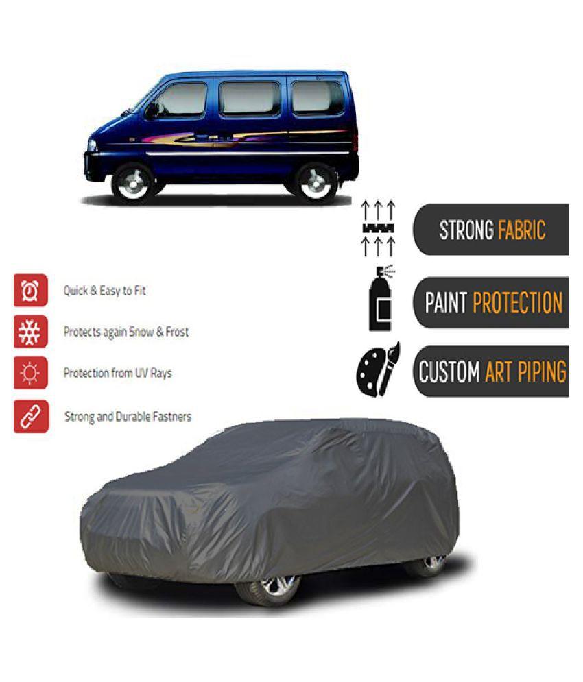 QualityBeast Car Body Cover for  Maruti Suzuki Eeco [2009-2015] Grey