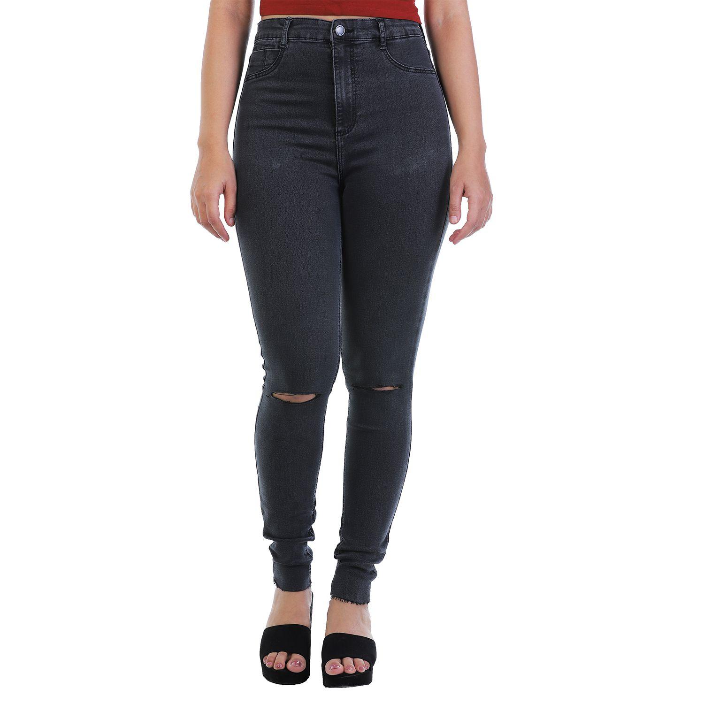 Malachi Denim Lycra Jeans - Grey