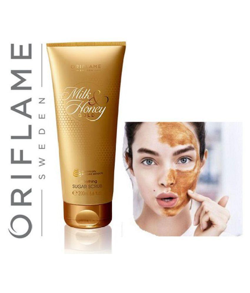 Milk & Honey Gold Smoothing Sugar Facial Scrub 20 gm