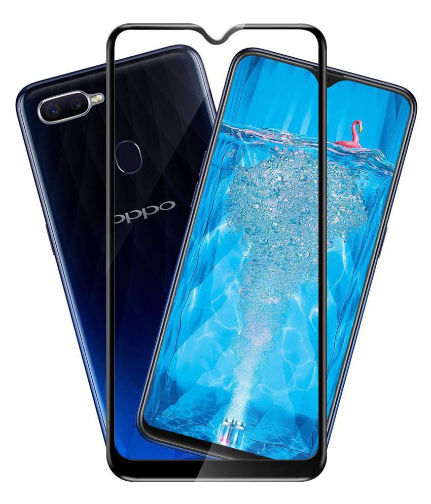 Oppo F9 Pro Tempered Glass Screen Guard By XORB Full edge to edge screen protection