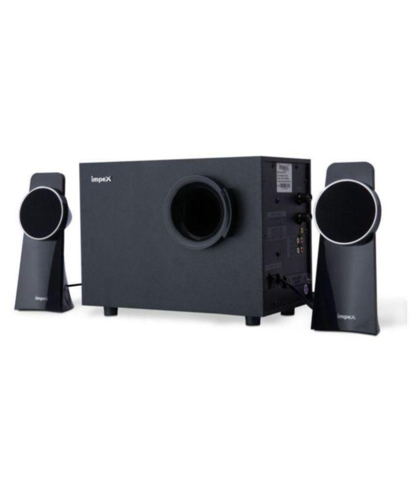 Impex SPINTO 2 1 Bluetooth Speakers - Black