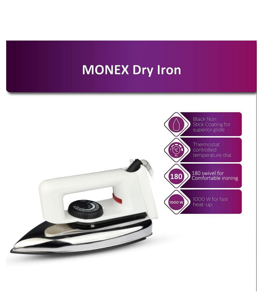 Monex New Range Dry Iron White