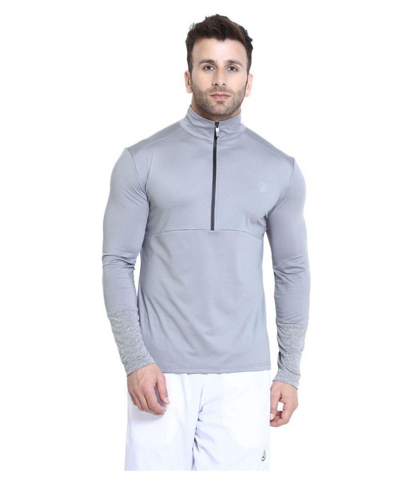 Chkokko Beige Polyester Fleece Jacket