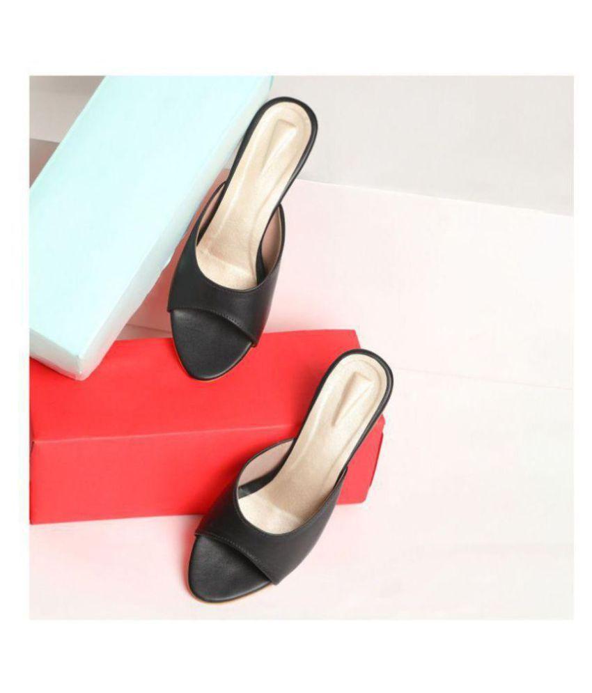 Sindhi Footwear White Kitten Heels