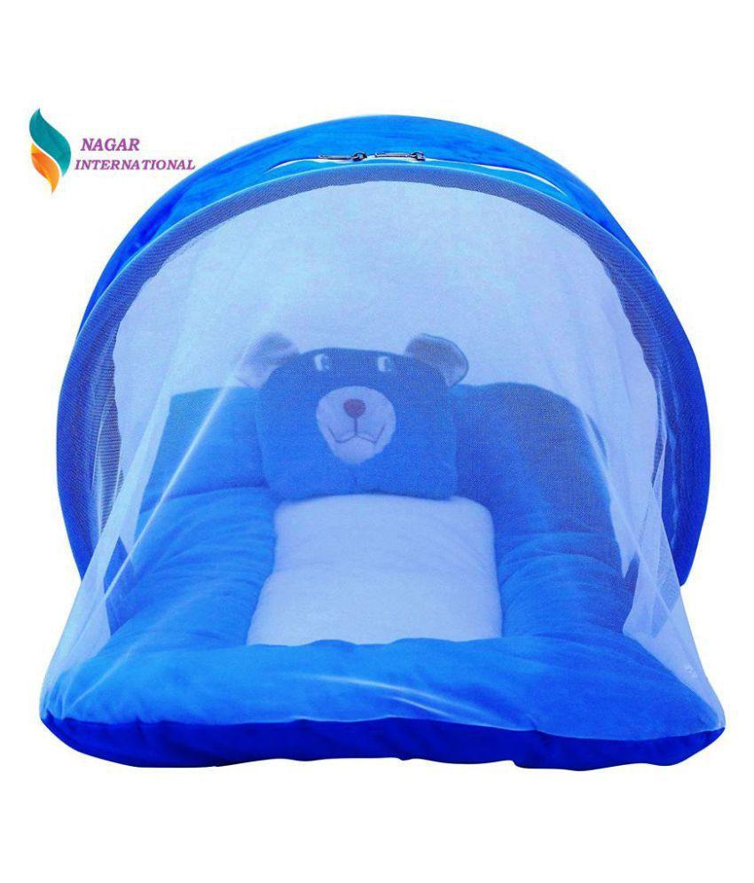 GAURAV INTERNATIONAL Blue Polyester Sleeping Bags ( 70 cm × 40 cm)