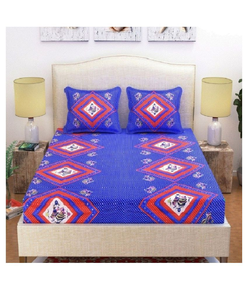 Federica Microfibre Double Bedsheet with 2 Pillow Covers