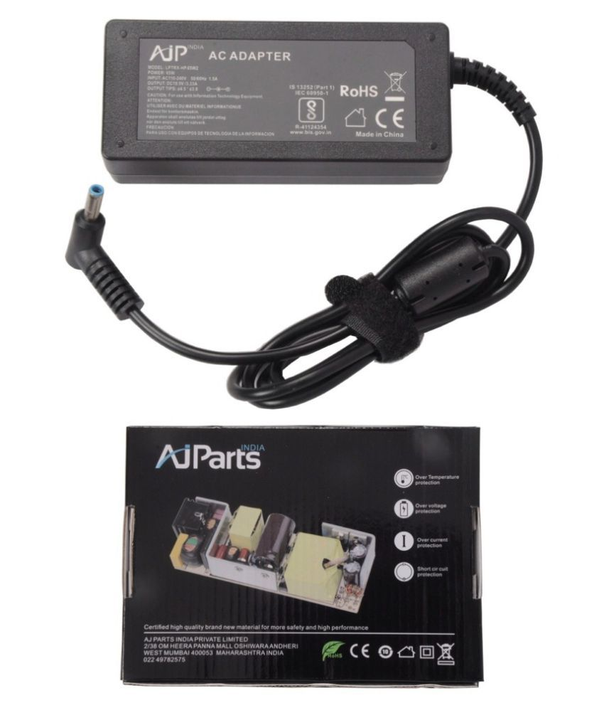 AJP India Laptop adapter compatible For HP M6E04EA Laptop Battery Charger - Sold By AJParts India
