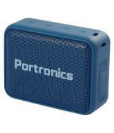 Portronics Dynamo POR-394  5W Portable High Bass Wireless & Bluetooth 5.0 Speaker with FM (Blue)