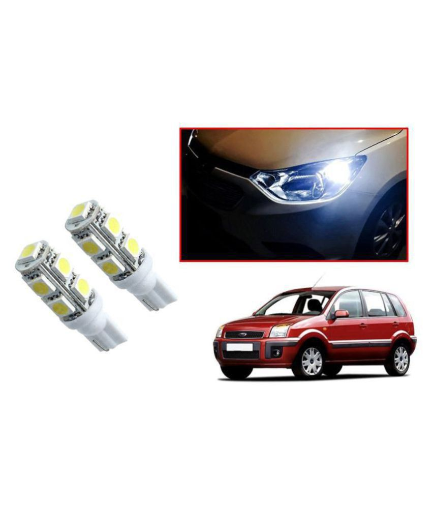 Auto Addict Car T10 9 SMD Headlight LED Bulb for Headlights,Parking Light,Number Plate Light,Indicator Light For Ford Fusion