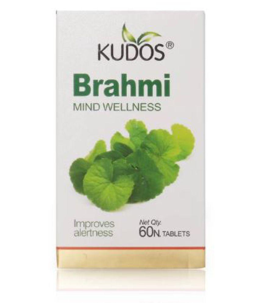 Kudos Ayurveda Brahmi Mind Wellness Tablet 60 no.s