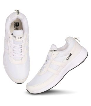 Buy SEGA White Running Shoes Online at