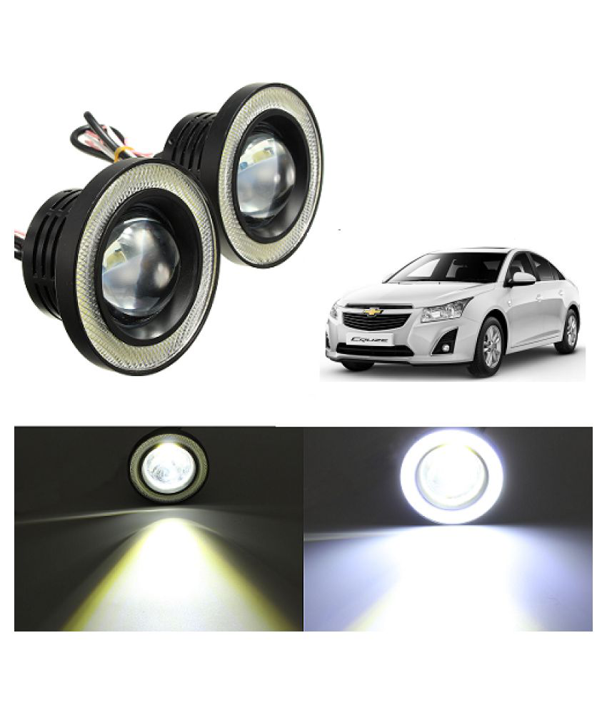 Neeb Traders Fog Light For Passenger Cars - Bright White