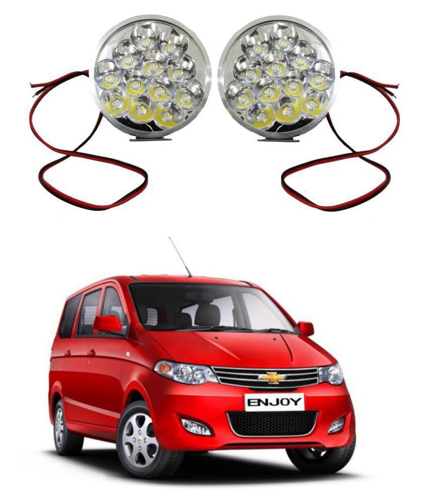 Trigcars Chevrolet Enjoy LED Fog Lamp + Free Car Bluetooth