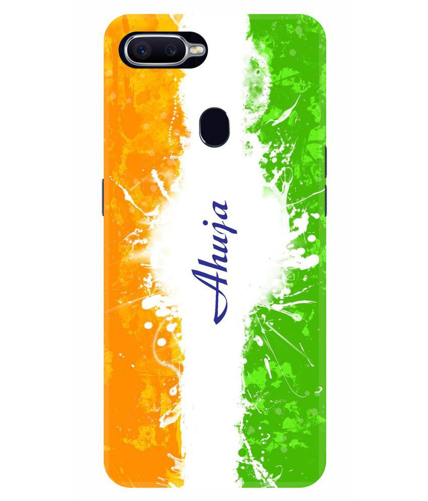 Oppo F9 Printed Cover By VINAYAK GRAPHIC The back designs are totally customized designs