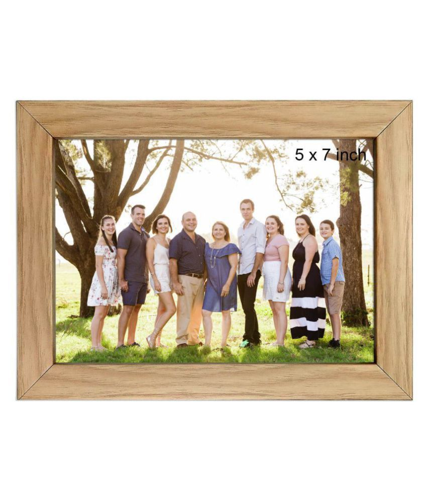 Allure Acrylic Multicolour Single Photo Frame - Pack of 1