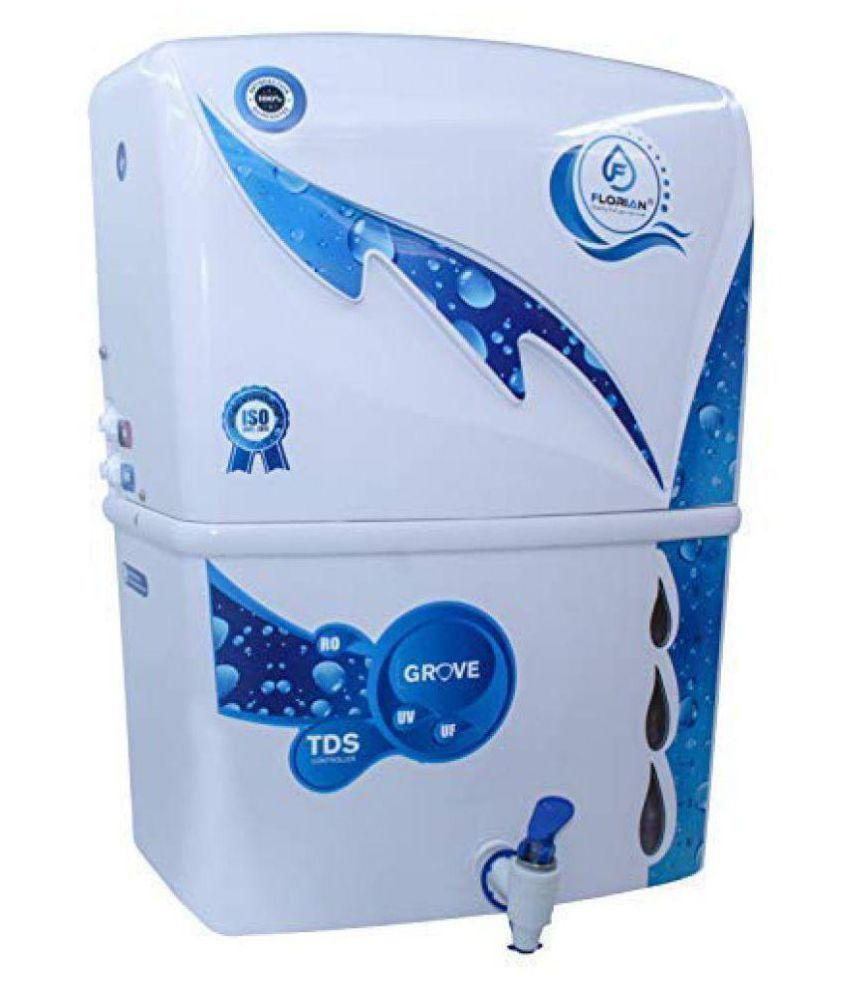 FLORIAN Grove RO+UV+UF+TDS 10 Ltr ROUVUF Water Purifier