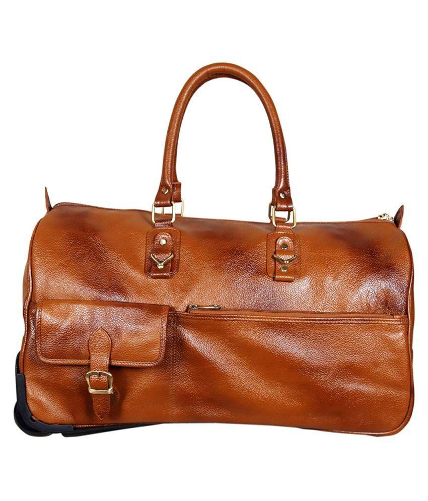 C Comfort Tan Casual Messenger Bag