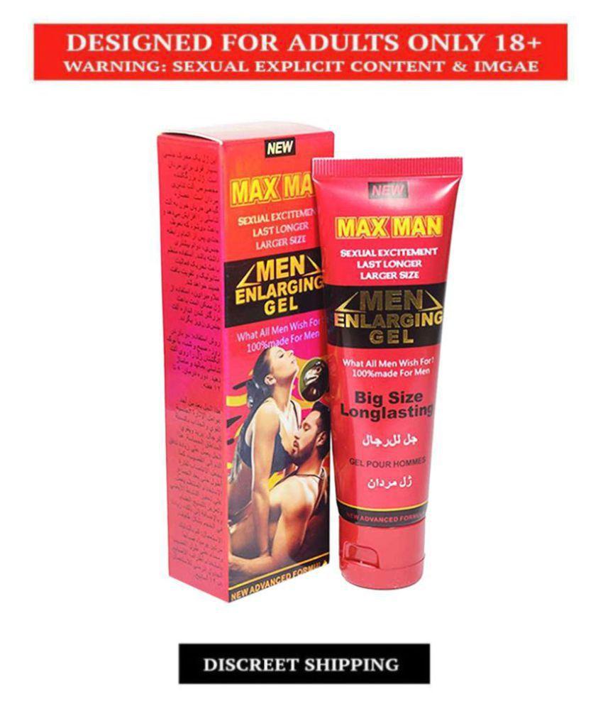 Max Man Ultra Sexual Excitement Last Longer larger Size Penis Enlargment Cream