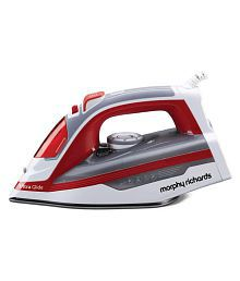 Morphy Richards ULTRA GLIDE Steam Iron white and red