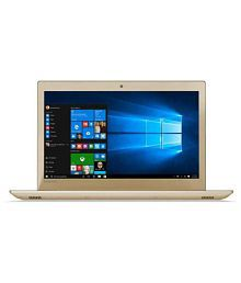 Lenovo Ideapad 520-81BF00K8IH Notebook Core i5 (8th Generation) 8 GB 39.62cm(15.6) Windows 10 Home with MS Office Home & Student 4 GB Gold