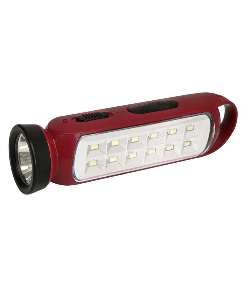 Stylopunk 3W Flashlight Torch EN690 Emergency - Pack of 1