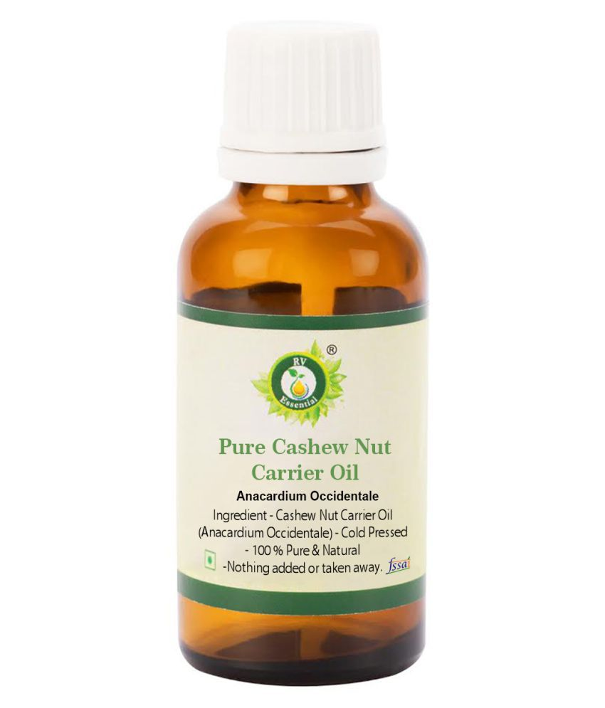 R V Essential Pure Cashew Nut Carrier Oil Carrier Oil 15 mL