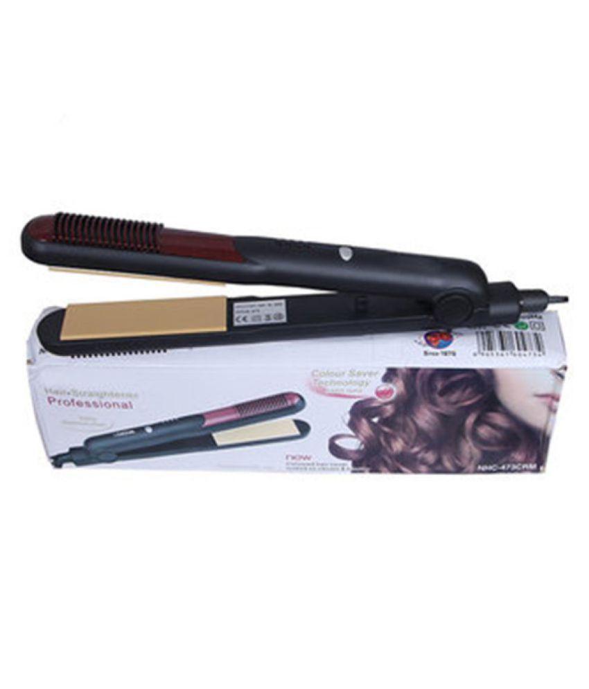 blushia 473 Professional Hair Straightener ( Multicolor )