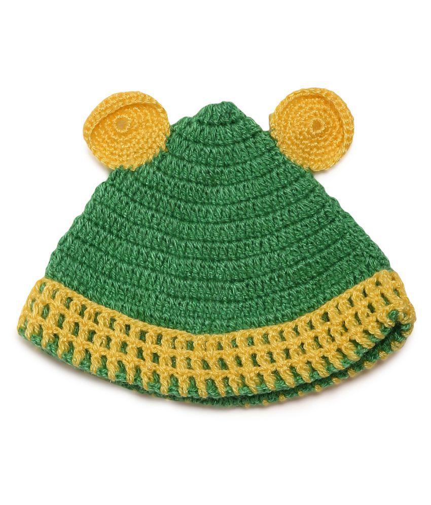 CHUTPUT Cute Green Cap