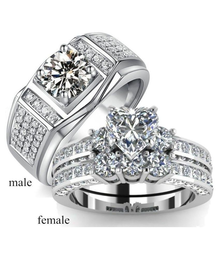 Exquisite Women 925 Sterling Silver Love Heart Cut Natural
