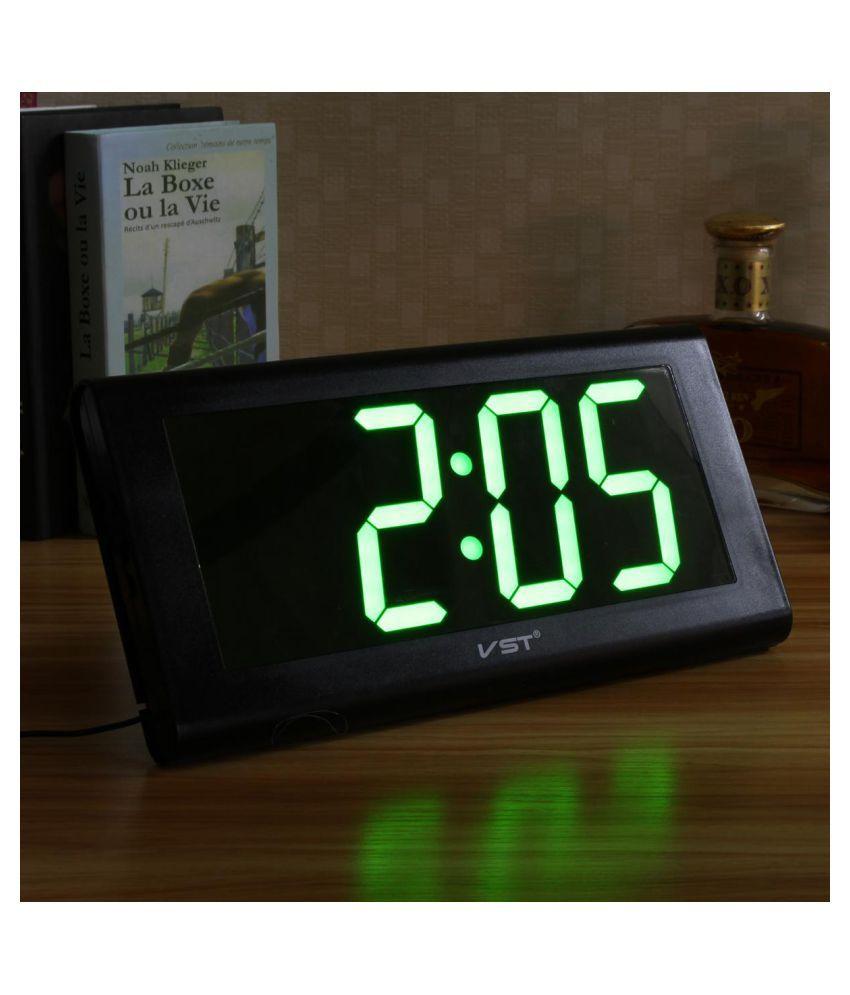 Modern 3D Digital Large LED Desk Wall Clock Home Decoration 24 Hour Display