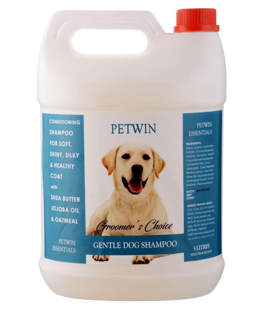 PETWIN GROOMER'S CHOICE GENTLE DOG SHAMPOO 5 L
