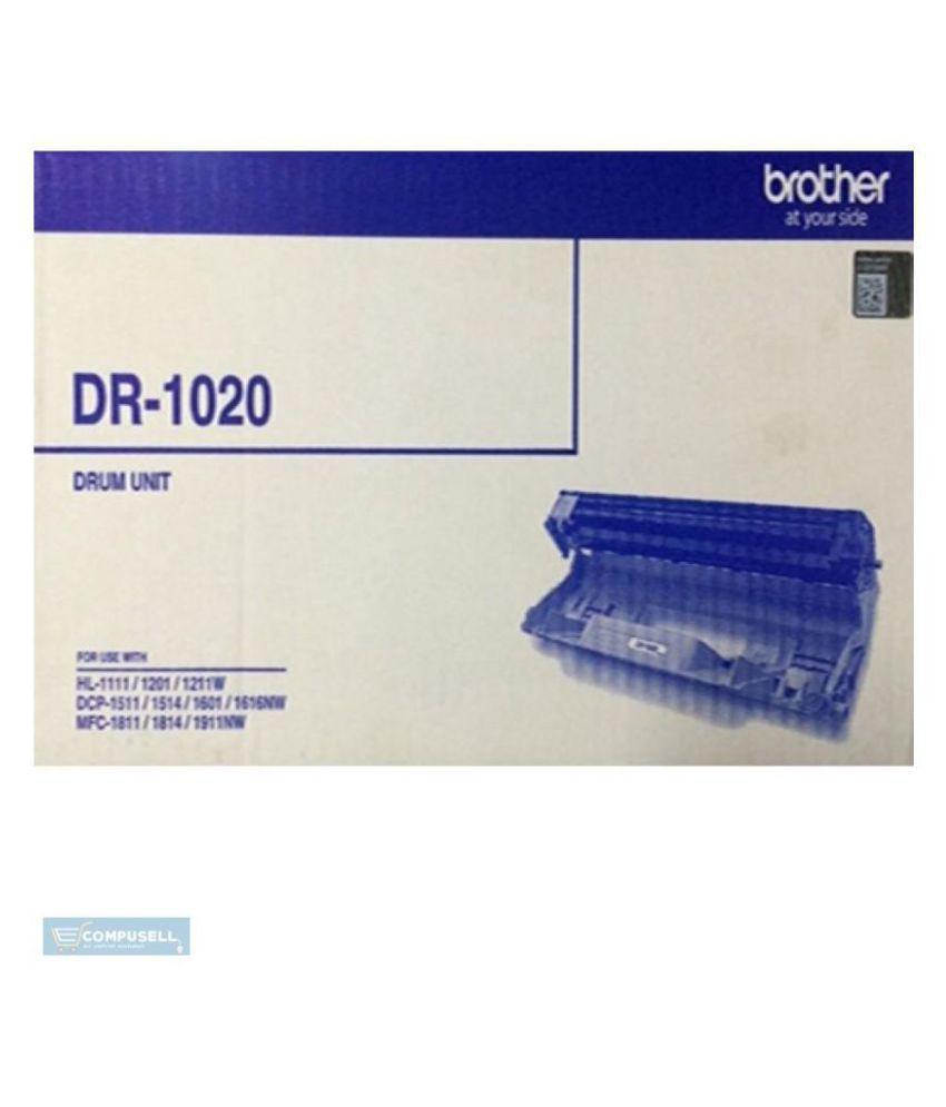 Brother DR 1020 Black Drum Units Cartridge