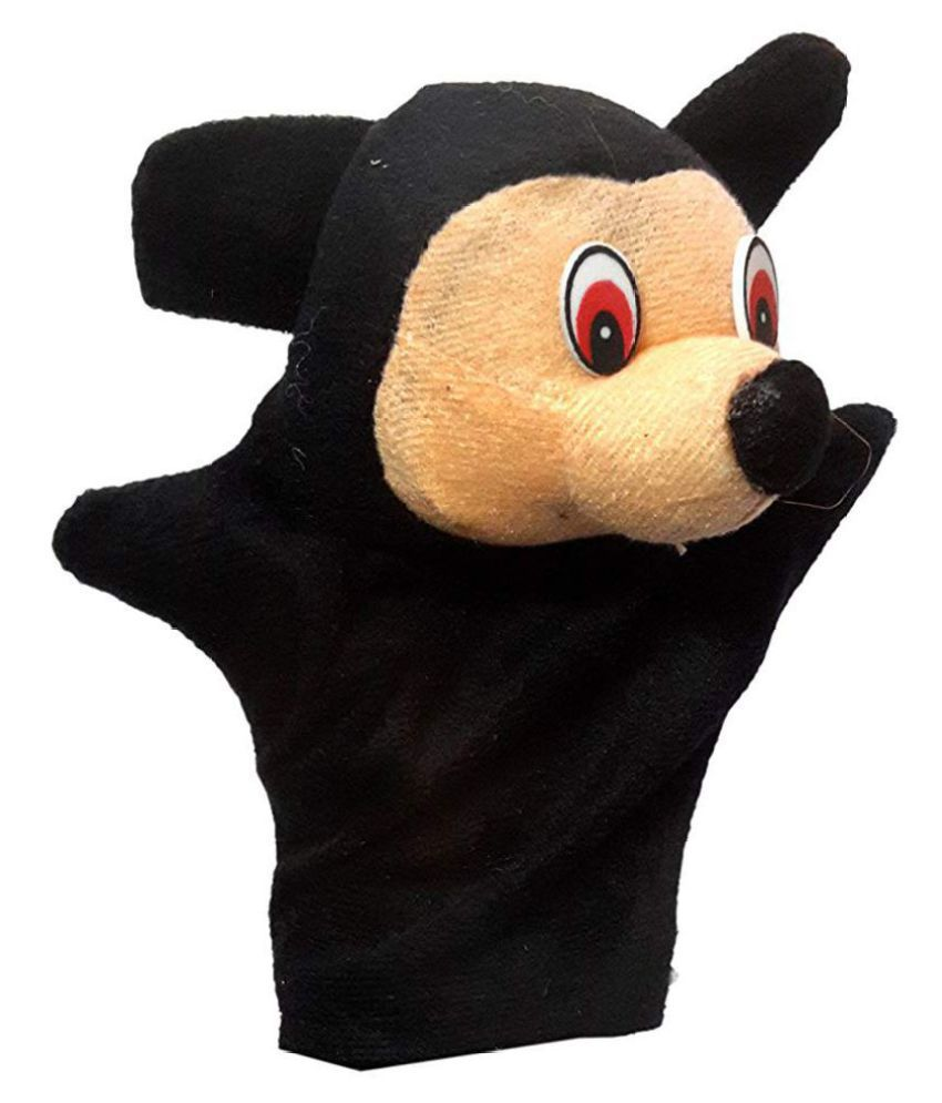 Kaku Fancy Dresses Mickey Mouse Cartoon Hand Puppet Shows and tell For Kids  Annual function/Theme Party/Competition/Stage Shows/Birthday Party Dress