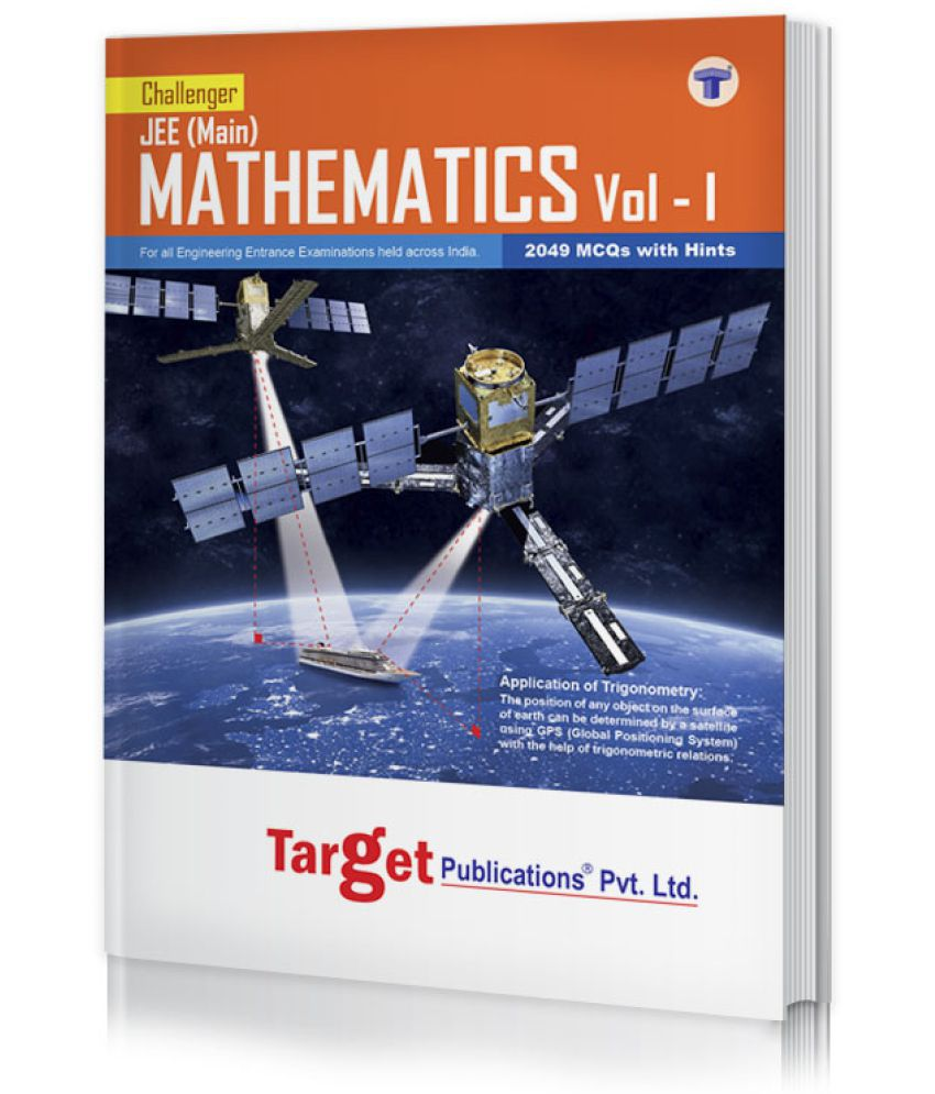JEE Mains Challenger Maths Book Vol 1 for 2020 Engineering Entrance Exam | Chapterwise MCQs with Solutions | 2019 Question Paper with Answer Key | Model Papers for Practice | Best Study Material for JEE Preparation