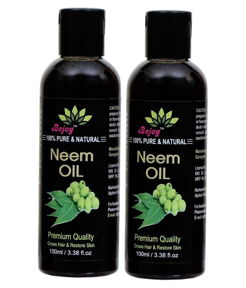 BEJOY 100% Pure And Natural Neem Hair Oil 200 mL