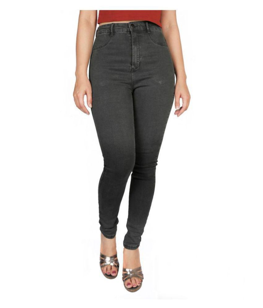 Timbre Denim Lycra Jeans - Grey