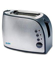 Glen 3018 825 Watts Pop Up Toaster